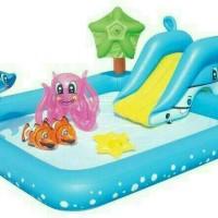 Kolam Renang Anak Fantastic Aquarium Play Pool Bestway 58461