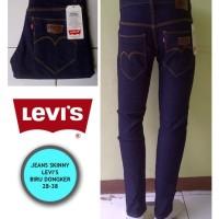 Jual Celana Jeans Pria Model Skinny (Model Pensil) Biru Dongker Murah