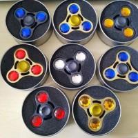 Fidget Spinner Toys Hand Tri-Spinner Mainan Tangan New Trending Toys