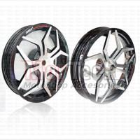 Velg Pelek Racing Lebar Power Star Spider Xeon GT - Xeon RC 125 Chrome