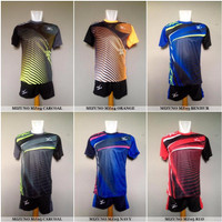 Harga baju kaos olahraga jersey voli setelan volley asics mizuno molten | Pembandingharga.com