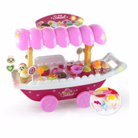 Jual anak kreatif MAINAN MINI MARKET SHOP SWEET LUXURY CANDY CAR Murah