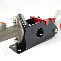 Universal Hydraulic Handbrake E-Brake Vertical Horizontal - Red LGLORY