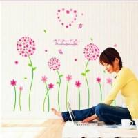 Wall Sticker 50X70/Wall Stiker Transparan-Ay7055 Pink Pandora Hot Sale