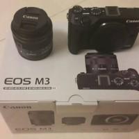 harga Kamera Canon Eos M3+ Lensa Ef-m15-45 Is Stm Tokopedia.com