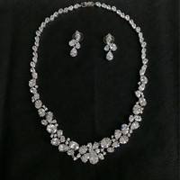 Perhiasan Set Necklace And Earrings