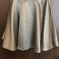 Rok Wanita Gold Flare Skirt