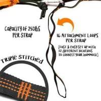 Strap hammock/Tali webbing for eno,ticket to the moon