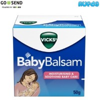 Vicks Baby Balsam, Untuk Bayi Pilek dan Batuk