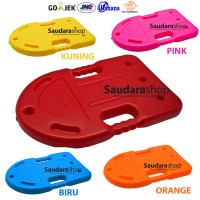 Papan Renang 2 Lubang Sea World Merah / Swimming Board Tebal Red