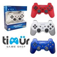 Stick Stik PS3 Wireless Original Pabrik Warna Putih Merah Biru