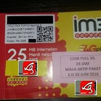 Perdana Indosat 11GB Kuota Internet IM3 1GB + 10GB (4G) Mentari 11GB