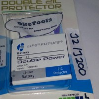 Baterai Batre Battery Double Power+ic Samsung Galaxy J2/J200 Original