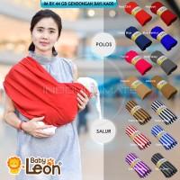 Baby LEON Gendongan Bayi Kaos/Geos Baby /Selendang Praktis BY 44 GB
