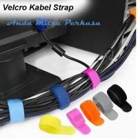 Velcro Cable Strap Klip Pengikat Perapih Kabel ORG03