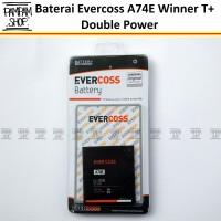 harga Baterai Evercoss A74e Double Power Winner T+ Plus   Batre Evercross Tokopedia.com