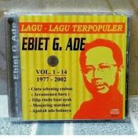 CD Ebiet G Ade - Lagu Lagu Terpopuler