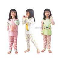 Kazel Piyama Girl (isi 3) Size Xl & Xxl / Baju Tidur Anak / Piyama Ana