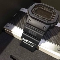 Casio Gshock Original DW5600MS-1 KOBORED MLTR ONLY 200pcs