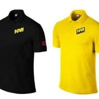 Polo Shirt Natus Vincere NAVI Dota 2 Games Baju Kerah Pria Wanita