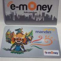 Kartu eMoney Garuda Bhineka 2 - Mandiri e Money card eToll e Toll Pass