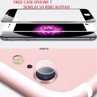IPHONE 7 SCREEN + CAMERA Tempered Glass 3D Curved Full Cover