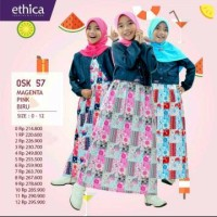 Gamis anak ethica OSK 57 size 11