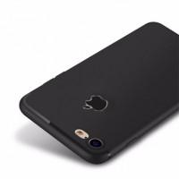 Case iPhone 7/7 Plus +/6/6s Slim Silicone Apple Logo Casing [Premium!]