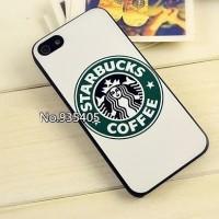 IPHONE 5c HARD CASE STARBUCKS COFFEE WHITE CASING COVER BUMPER ARMOR