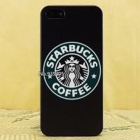 IPHONE 5C HARD CASE STARBUCKS COFFEE BLACK CASING COVER BUMPER ARMOR
