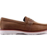 Sepatu Kuli Asli Hrcn Red Reduction Tan - H 5368 | Sepatu Formal Pria