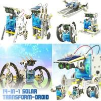 Jual 14 In 1 Solar Robot Edukatif Robot Solar Cell Kit DIY Murah