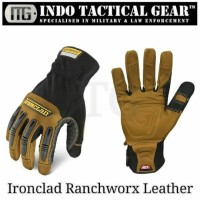 Ironclad Ranchworx Leather Gloves