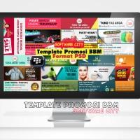 Template Desain DP BBM Keren Format PSD | Untuk Promosi & Bisnis