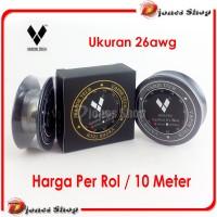 Kanthal Wire A1 26 AWG / Gauge 0,4mm|Kawat Kanthal / Khantal 10 meter