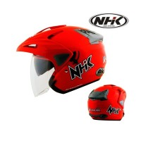 TERMURAH Helm NHK Predator 2 visor Solid