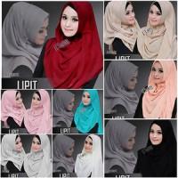 Grosir Jilbab Tanah Abang Pashmina Instan Lipit Hijab Instant Lipit