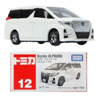 Toyota Alphard (white) no 12 Tomica Takara Tomy