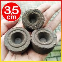 Peat pellet mirip jiffy gambut diameter 3.5cm pengganti tanah