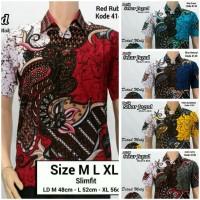 Model Baju Kemeja Batik Modern Pria || Batik Kerja | Sekar Jagad