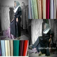 Best Seller Satin Kaftan Ikat Terbaru
