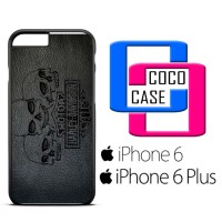 Casing iPhone 6 & 6 Plus Harley Skull Wallpaper X4488