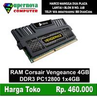 Memory RAM PC DDR3 4GB PC 12800 Corsair Vengeance Heatsing
