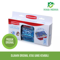 TERBAIK Rubbermaid Blue Ice Blanket Fleksibel Pendingin Original USA