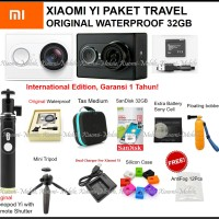 Jual Xiaomi Yi Action Camera - Travel Edition Paket Komplit Murah