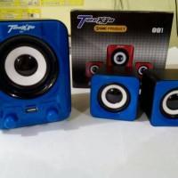 GMC Speaker aktif multimedia usb Teckyo 881pc komputer smartphone
