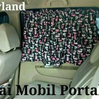 Jual Tirai / gorden Mobil Portable Murah