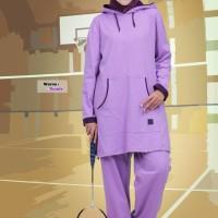 baju setelan olahraga wanita believe muslimah