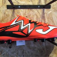 Sepatu bola joma original Champion max orange-hitam