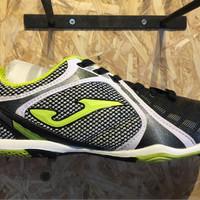 Sepatu futsal joma original Knit hitam putih new 2017